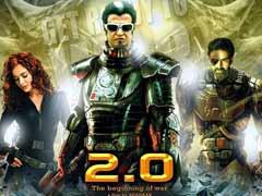 रजनीकांत और अक्षय कुमार की फिल्म '2.0' की शूटिंग लगभग हुई पूरी