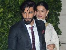 Deepika Padukone, Ranveer Singh Hold Hands At Star-Studded Ambani Party