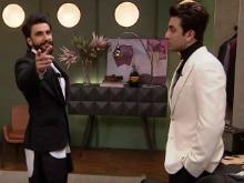 <I>Koffee With Karan 5</i>: Ranbir Kapoor Is 'Scared' Of Ranveer Singh Because...