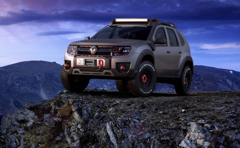 Renault Duster Extreme Concept Unveiled At Sao Paulo Auto Show
