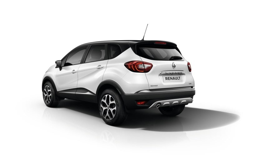 Renault Kaptur Rear Profile