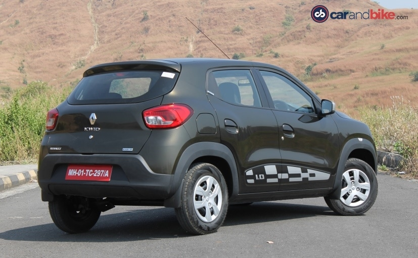 renault kwid amt review ndtv carandbike. Black Bedroom Furniture Sets. Home Design Ideas