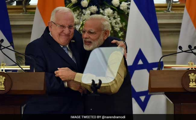 'India, Israel Expanding Cooperation In Agri, Water Saving': Israel President