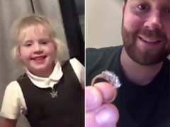 Viral: Little Boy Proposes To His Classmate With A Real Diamond Ring
