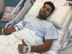 Rohit Sharma Undergoes Successful Surgery On Right Thigh