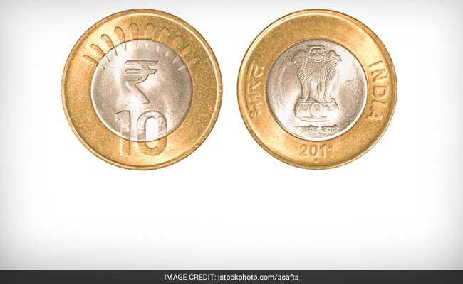 Ten rupees coin duplicate