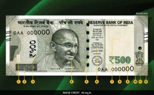 Here Is A Look At New Rs 500, Rs 2,000 Notes