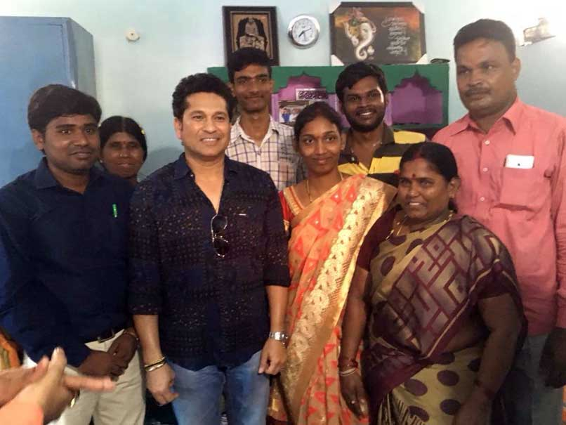 Sachin Tendulkar Joins Andhra Pradesh Couple For Tea, Leaves Them Overjoyed