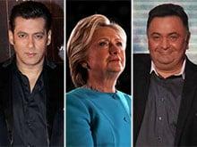 Hillary Clinton's Bollywood Cheer Squad: Rishi Kapoor, Salman Khan
