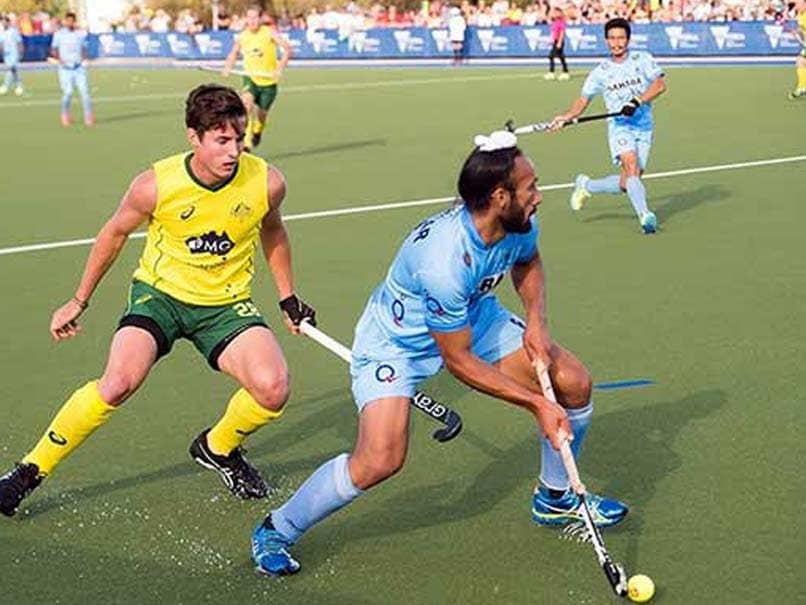 Indian Hockey Team Goes Down To Australia 3-4, Series Level at 1-1