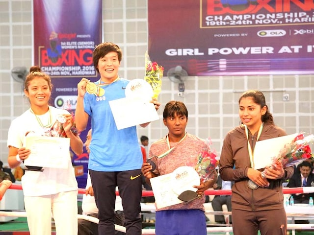Womens Boxing Nationals: Sarjubala Devi Wins Gold, Haryana Top Standings