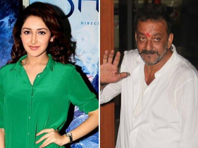 Sayyeshaa Saigal Plays Sanjay Dutt's Daughter in Bhoomi