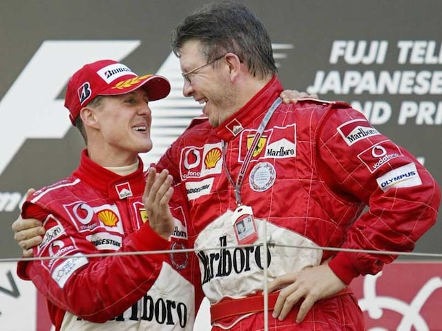 Encouraging Signs From Michael Schumacher: Ross Brawn