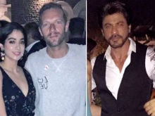 Shah Rukh Khan, Rahman. A Sky Full Of Stars At Coldplay's Welcome Party