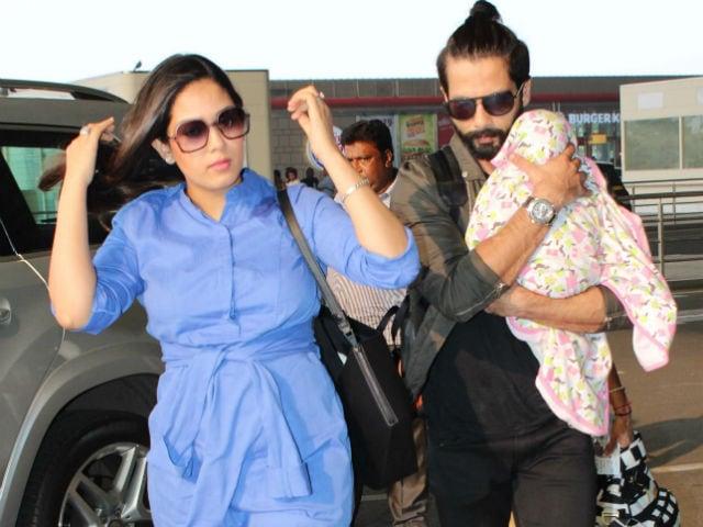 Shahid Kapoor, Mira Rajput Trend, Courtesy These Pics Of Baby Misha