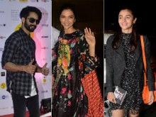 Alia Bhatt, Deepika Padukone 'Outstanding,' Says Shahid Kapoor