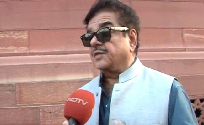 Enough Is Enough, Says Shatrughan Sinha, Claims Slight Because Of PM Modi