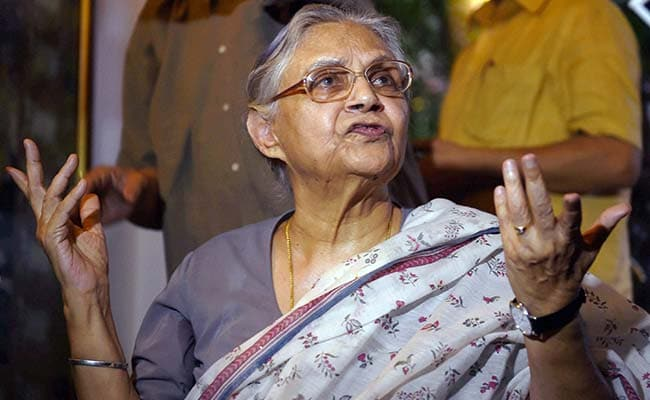 AAP Trying To Avoid Bypolls: Sheila Dikshit On Office Of Profit Row