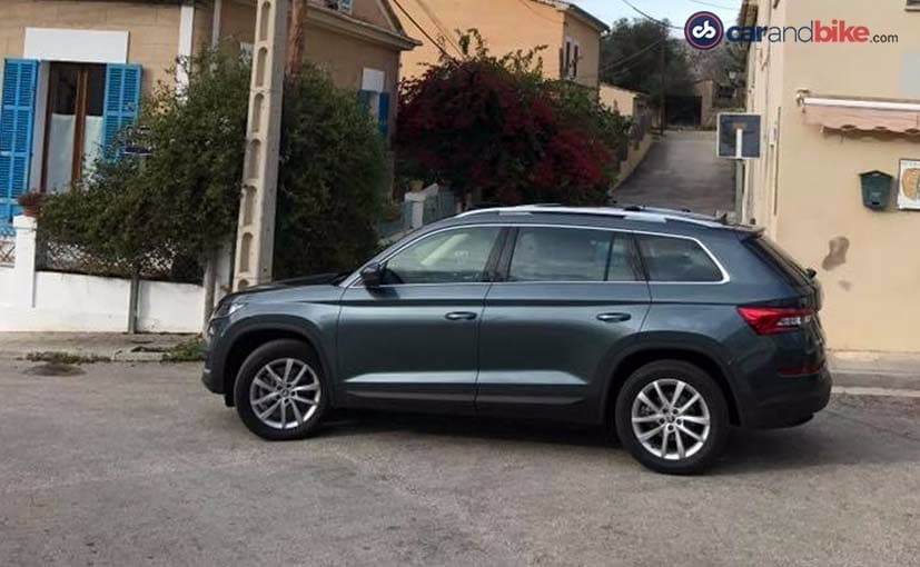 Skoda Kodiaq SUV Side Profile