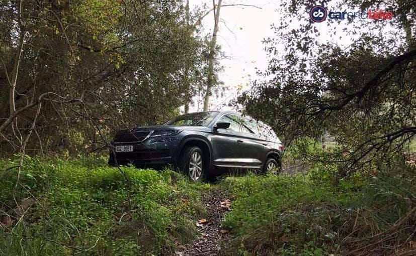 New Skoda Kodiaq SUV