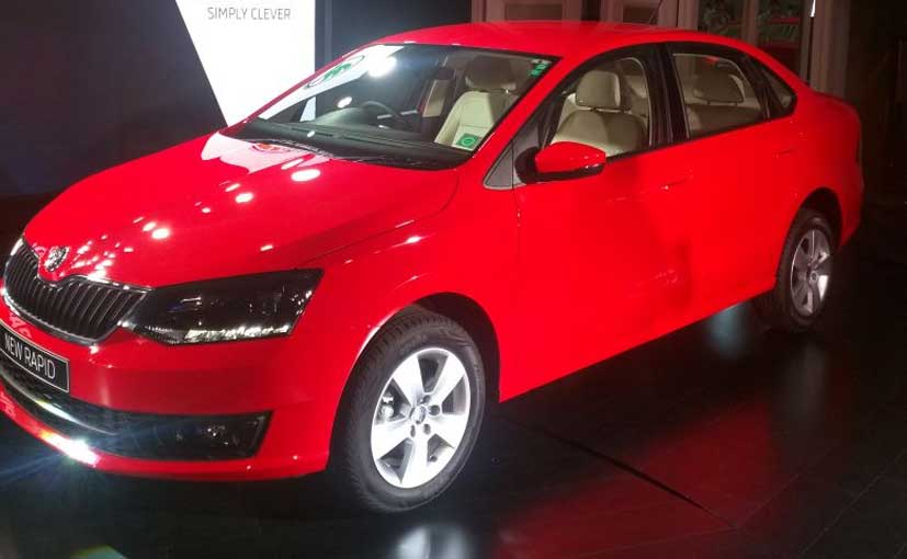 Skoda Rapid Facelift Launched In India Prices Start At Rs 8 27