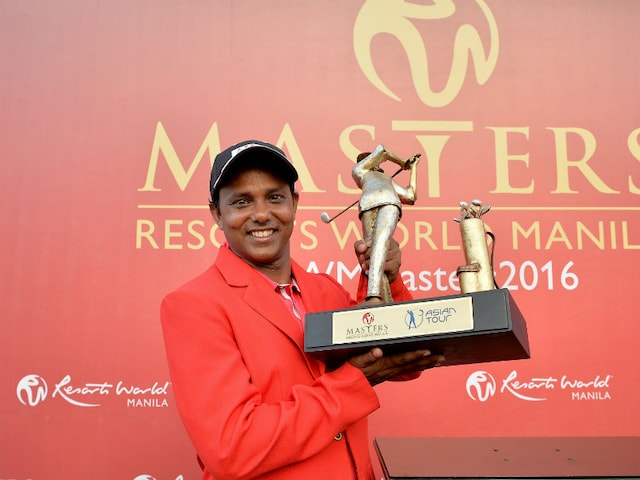 SSP Chawrasia Wins Three-Way Playoff to Lift Manila Masters