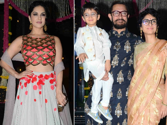 Aamir Khan's Special Diwali Guest: Sunny Leone