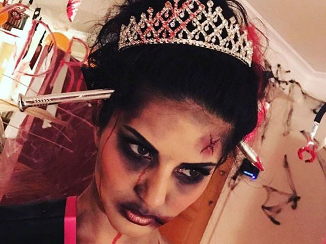 Happy Halloween: Sunny Leone's Fright Night Was Filled With Zombie Drama