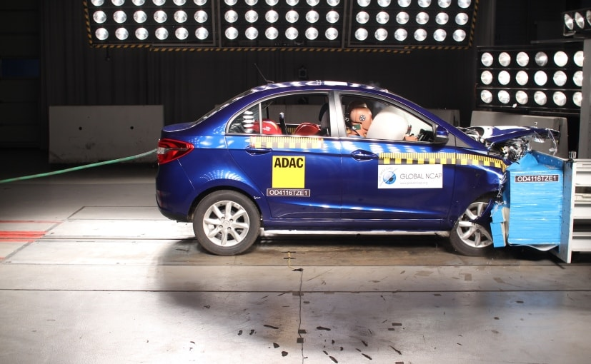 Tata Zest Scores 4-Star Rating In Global NCAP Crash Test
