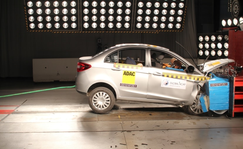 Tata Zest With No Airbags