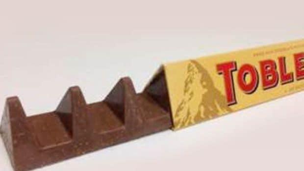 Thin Peaks: Britons Grumble as Toblerone Chocolate Shrinks