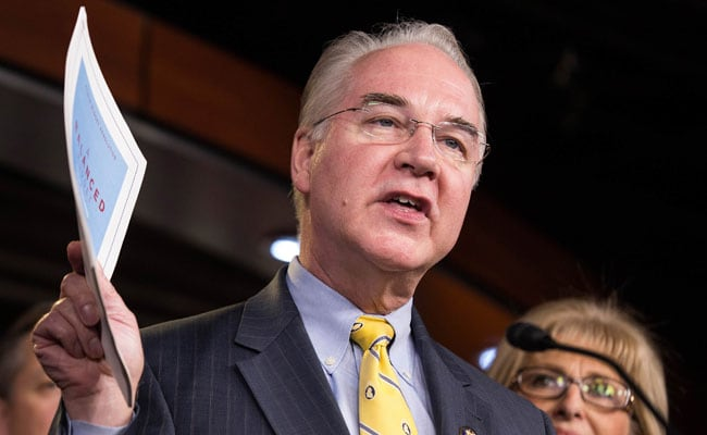 Under Pressure From Trump, Tom Price Resigns As Health Secretary Over Private Plane Uproar
