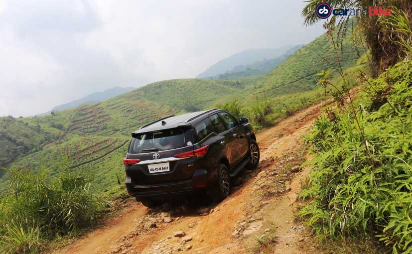 New Toyota Fortuner Rear