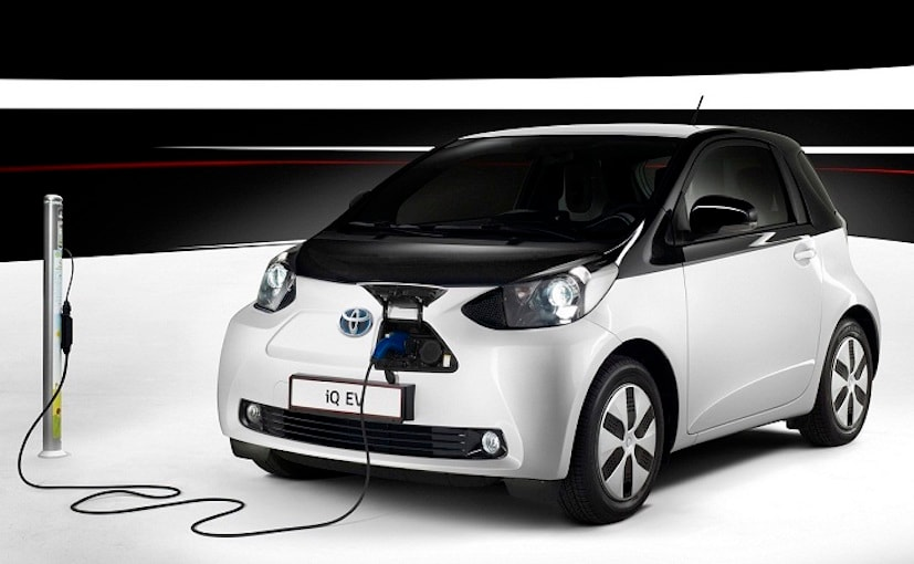 toyota iq electric vehicle ev