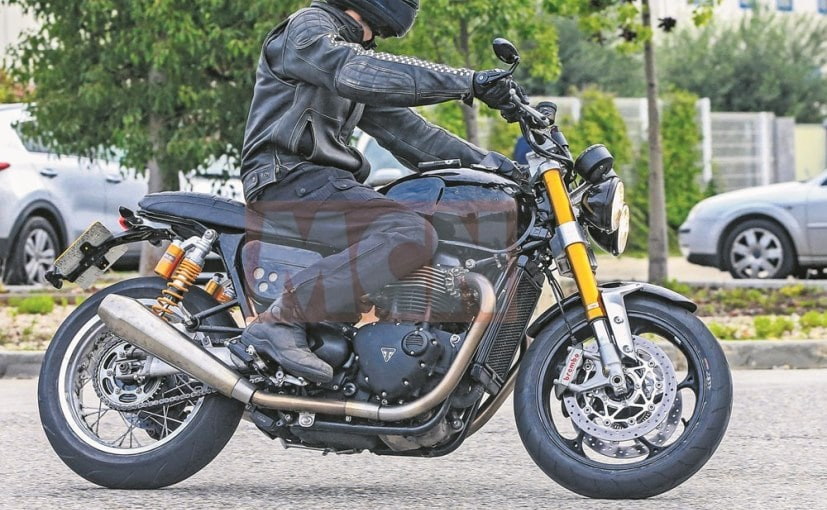 Resurrected Triumph Speed Twin Spotted Testing For The First Time