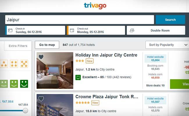 Expedia S Hotel Search Platform Trivago Plans Ipo Of Up To 400 Million