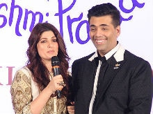 Twinkle Khanna Asked Karan Johar a Question he Didn't Want to Answer