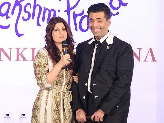 Twinkle Khanna Asked Karan Johar a Question he Didn't Want to Answer