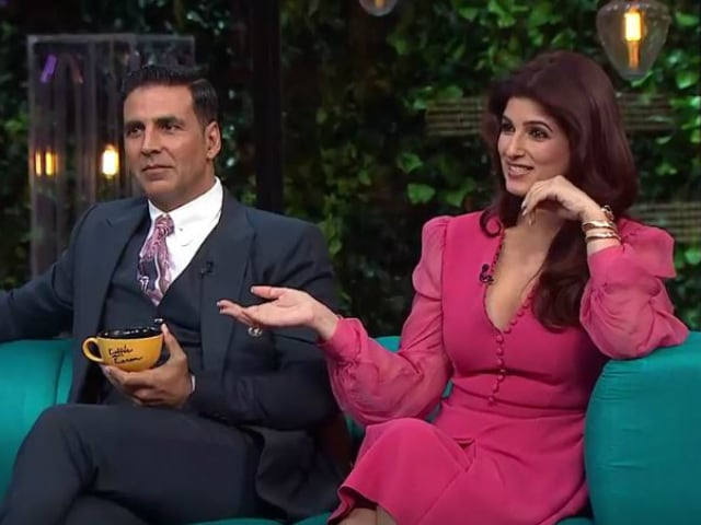 Twinkle Khanna, Uncensored, on Koffee With Karan. Akshay Kumar Blushes