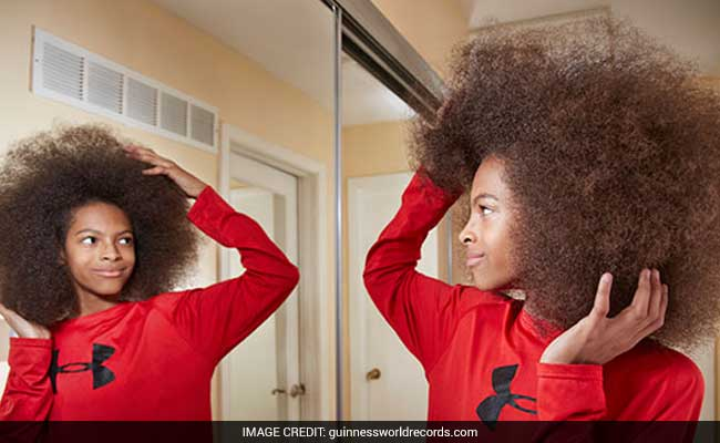 13-Year-Old Boy With Worlds Largest Afro Sets Guinness Record