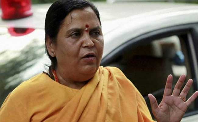 Caste-Based Reservation Cannot Be Scrapped, Says Uma Bharti