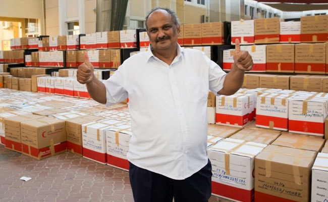 Indian In Dubai Creates World Record Collecting Stationery For Charity