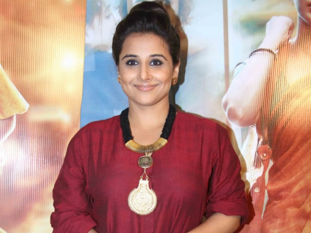 Why Vidya Balan Didn't Have To Queue At The Bank After Currency Ban