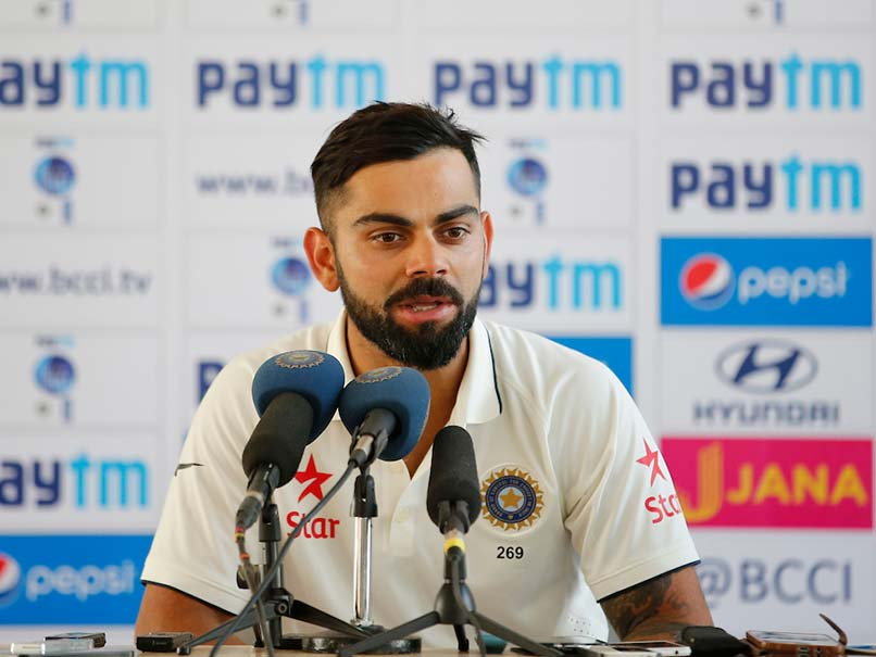 Kohli shrugs off ball-tampering report