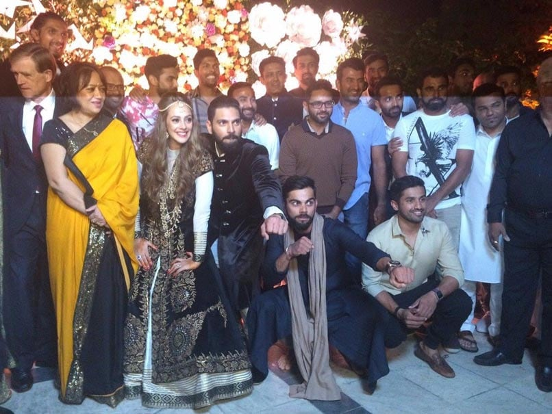Virat Kohli Shows Dance Moves As Yuvraj Singh, Hazel Keech Start 'New Innings'