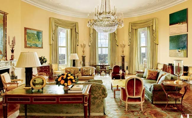 Studio Ovale Obama : The obama family s stylish home inside the white house