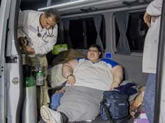 World's Most Obese Man Starts Treatment In Mexico