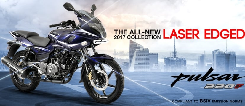 BSIV Compliant 2017 Bajaj Pulsar 220F With New Colours Launched; Priced At ₹ 91,000