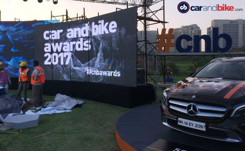 NDTV Carandbike Awards 2017: Behind The Scenes