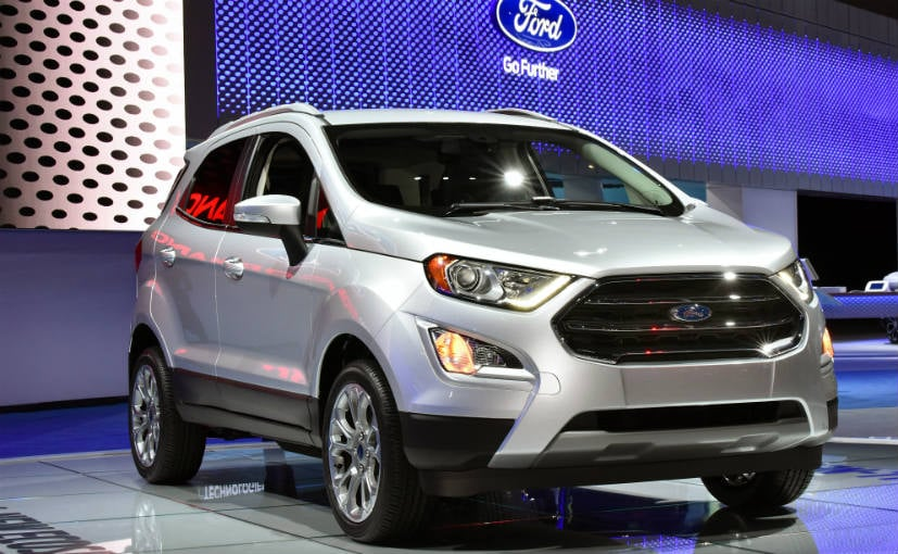 The Ford EcoSport facelift will make it's India debut on October 29, 2017